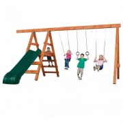 Swing-n-Slide Play Set Pioneer Deluxe DIY Swing Set NE 4433-SUM