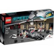 Set de constructie Lego McLaren Mercedes Pit Stop