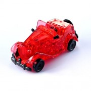 Vintage Car 3D Crystal Puzzle – Red