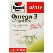 Doppelherz Aktiv Omega 3 + Anghinare (30 Capsule)