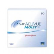 1 Day Acuvue Moist 90 Pack Contact Lens (90 lenses/box - 1 box)