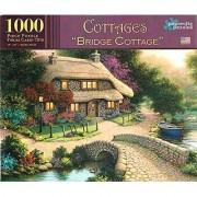 Papercity Puzzles COTTAGES BRIDGE COTTAGE'' 1000 Piece Puzzle