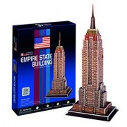 Kristins Gifts Boys Empire State Building 3D 39 Piece Toy Puzzle Gift