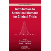 Introduction to Statistical Methods for Clinical Trials by Thomas D. Cook