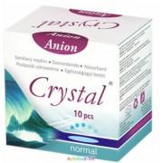 Anionos intim betét normál méret, 10 db/doboz, intim betét fertőzések ellen - Vita Crystal