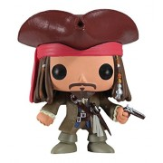 FUNKO Pop! Disney: Jack Sparrow Collectible figure Jack Sparrow - action figures & collectibles (Collectible figure, Movie & TV series, Jack Sparrow, Multi, Vinilo, Caja) - Figura Head Jack Sparrow (10 cm)