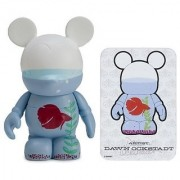 Aquaramouse by Dawn Ockstadt - Disney Vinylmation ~3 Park Series #2 Designer Figure (Disney Theme Parks Exclusive)