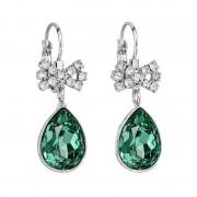 Cercei cu cristale Swarovski FaBOS, Emerald 7740-1147-13