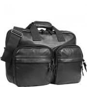 EASTPAK Herren Tasche Laptoptasche Leder schwarz