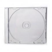 Box para CD Videolar Tradicional em Acrílico Transparente - Com 100 Unidades