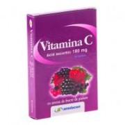 Vitamina c cu aroma de fructe de padure 20tbl AMNIOCEN