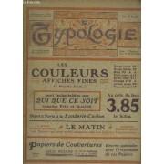 Journal Des Arts Graphiques- La Typologie - Paraissant Trimestriellement - Vol. Ix - N°375- 15 Mars 1906