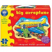 Big Aero plane Shaped Floor Puzzle