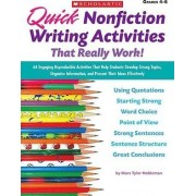 Quick Nonfiction Writing Activities That Really Work! by Marc Tyler Nobleman