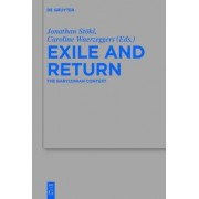 Exile and Return by Jonathan Stokl