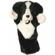 Papusa de mana stil manusa Border collie - The Puppet Company