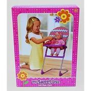 My Sweet Love Doll High Chair - Chevron