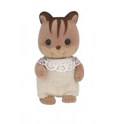 Baby Sylvanian Families Doll Walnut Squirrel