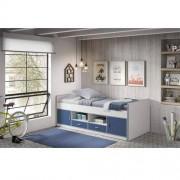 VIPACK Łóżko dla dzieci Bonny Blue