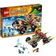 LEGO Legends of Chima - El destructor flamígero de Cragger, juego de construcción (70135)