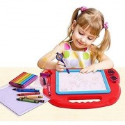 Magnetic Drawing Board Colorful Doodle Sketch Learning Toy Erasable (Color May Vary) by Wishland