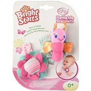 Bright Starts Pretty in Pink Rattle Me Bracelets