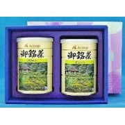 エーコープ 煎茶 グリーン 100g×2缶