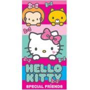Hello Kitty mintás fürdőlepedő