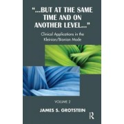 But at the Same Time and on Another Level: Case Studies - Psychoanalytic Technique in the Kleinian/bionian Mode v. 2 by James S. Grotstein