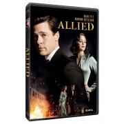 Allied:Brad Pitt,Marion Cotillard - Aliatul (DVD)