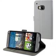 Husa Agenda Slim Gri HTC One M9 Muvit
