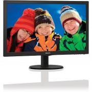 Monitor Philips LED 223V5LSB2/10 21.5 inch Negru