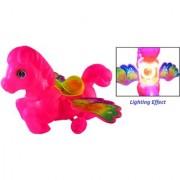 Unicorn Push Toys with Light Effect