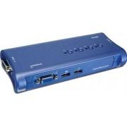 Switch KVM TRENDnet TK-407K 4 porturi USB