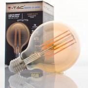 Lâmpada LED E27 7w»60W 2200K 700Lm G95 VINTAGE AMBAR