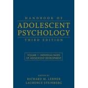 Handbook of Adolescent Psychology: v. 1 by Richard M. Lerner