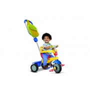 New Smart Trike Breeze GL Touch Steering 3-In-1 Tricycle Toddler Bike Pushchair