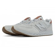 New Balance 574 Fresh Foam Grey with Brown
