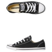 Converse Chuck Taylor Womens All Star Dainty Lo Shoe Black