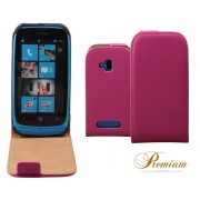 Housse Etui Vertical Rose Elegance Nokia Lumia 610