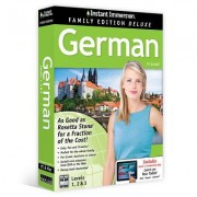 Instant Immersion Family Edition Deluxe German Levels 1,2 & 3