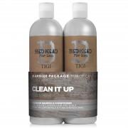 Tigi - Bed Head - For Men - Clean Up - Tweens Voordeelset - 2x750 ml