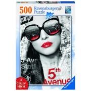 Ravensburger puzzle 5th avenue fata, 500 piese
