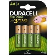 Acumulatori Duracell AAK4, 1300mAh, 4 bucati