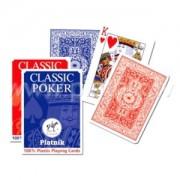 Karty Piatnik Classic Poker 1360 100% plastic