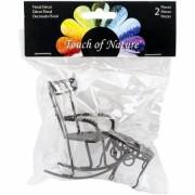 Mini Garden Rocking Chair & Round Table 2/Pkg Chair 2.25 X3 X3, Table 1.5x1.25
