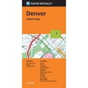 Folded Map Denver Co by Rand McNally