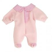 Pijama roz pentru papusi Miniland 38-42 cm