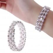 Dámsky univerzálny náramok na ruku s perličkami