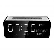 Boxa portabila SARDiNE A10, LED, Bluetooth, 12W, Radio FM, 5000mAh, Silver